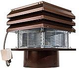 Extracteur De Fumée Conduit Rond 30 cm 300 mm Pour Cheminée Ventilateur De Radial Chapeau Aspirateur Extracteur Électrique De Fumées Pour Poêle Thermique Barbecue Mod professionnel Gemi Elettronica