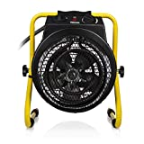 Tristar Radiateur Électrique Soufflant KA-5062 - Chauffage Industriel - 3000 W - Indice de Protection IPX4