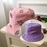 Chapeaux d'automne et d'hiver Nouveaux femmes Butterfly Broderie double face Automne hiver Bonnet chapeau de chapeau de soleil pliable chapeau de chapeau hip hop canape de pêche chapeau de chapeau d'e