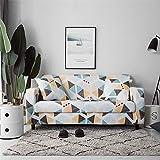 Housses de canapé Housses de canapé Extensibles pour Salon Housses de canapé élastiques Causeuse Meubles sectionnels Protecteur de Chaise A21 4 Places