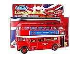 Londres Double Decker, modèle Red Bus (Pull Back & Go action) Fait de Die Cast M. ..