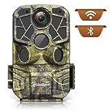 Caméra de Chasse WiFi Bluetooth usogood 4K 24MP Camera de Surveillance avec Détecteur de Mouvement Vision Nocturne Infrarouge, pour la Chasse, l'observation de la Faune, l'observation des Plantes