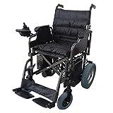 Mobiclinic, Fauteuil roulant électrique pliable léger, Modèle Cenit, Marque européenne, Fauteuil roulant avec moteur pour les personnes handicapées, Noir