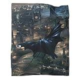 Couverture de dortoir Batman Arkham Knight 2015 pour enfants (80 x 100 cm)