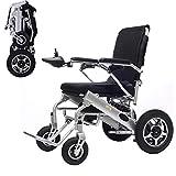 Alqn Fauteuil roulant électrique portable haut de gamme, fauteuil roulant électrique léger pliable et voyage, 25 kg, approuvé par la FDA