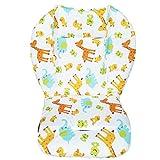Coussin de protection mat pour poussette, voiture et chaise haute, matière respirante, motifs animaux, pour enfant