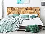 Tête de lit Impression Numérique sur PVC | Rectangle en Bois | De 200 x 60 cm | Sticker Vinyle Adhésif Autocollant Fond Mural |