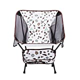 Loisirs fer tube prune pied couverture espace chaise fer tube camping chaise de pêche pliante