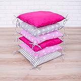 Tour de lit de bébé Design2 de Amilian® - Protège la tête et les bords- 210cm