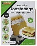 Toastabags Lot de 50Utilisation, doré, Lot de 10