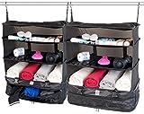 Pack de 2 organisateurs de valise & penderie - Version XXL [XCase]