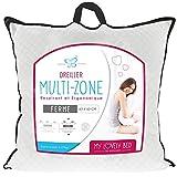 My Lovely Bed - Oreiller Multi-Zone 65x65cm - Respirant et Ergonomique - Confort Ferme - Excellent Maintien des cervicales - Haut de Gamme