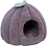 Lit d'animal de compagnie, le coussin mou en peluche est amovible et lavable peluche lit peluche chat coussin de chat mignon chat animal nid en hiver convient à n'importe quel animal de compagnie