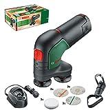 Bosch Home and Garden Ponceuse-polisseuse sans fil EasyCurvSander 12 (1 batterie, système 12 V, dans boîte carton) Vert