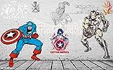 Marvel Spiderman Enfants Garçons Enfants Photo Papier Peint Personnalisé Super Héros Papier Peint Papier Peint Décoration De La Maison Chambre Décor Chambre