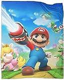 Super Mario Bowser - Convient pour les enfants - Peut être utilisé pour le camping - Dimensions : 3,6 x 50 pouces.