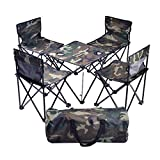 SCKL Table De Pique-Nique Tables Pliantes Portables Table Et Chaise D'extérieur Table Pliante De Camping Portable Et Chaise De Plage Chaise Table Pliante Pique-Nique