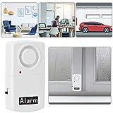 Alarme de porte durable de 120 dB, alarme de fenêtre, capteur d'alarme de vibration pour une forte sécurité anti-effraction et une porte de garage