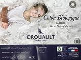 DROUAULT Oreiller Coton Biologique 65x65