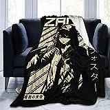 Isaac Zack Foster - Anges de la mort Anime Pullover Hoodie Couverture de climatisation Couverture de couette Lit Canapé Film Voyage Anti-Rides, Anti-Allergique 60 'X50'