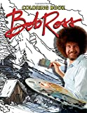 Bob Ross Coloring Book: Great Gifts For Adults Relaxing And Inspiration. Exclusive Artworks.