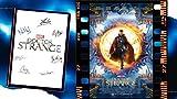 Doctor Strange Affiche et autographe dédicacés – Benedict Cumberbatch, Rachel Mcadams, Mads Mikkelsen, Tilda Swinton, Benedict Wong, Chiwetel Ejiofor, Stan Lee