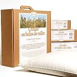 MILLE OREILLERS Oreiller Millet Bio 40 x 60 cm