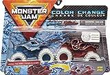 Monster Jam Camions Monstres Officiels Megalodon vs. Octon8er - Changement de Couleur - Échelle 1:64