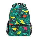 wteqofy Funy Colorful Dinosaur Paw Backpack Bookbags Daypack School Supplies for Students Girls Boys,Cute Animal Laptop Bookbag Shoulder Bag Travel Sports for Men Women