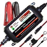 MOTOPOWER 12V 1.5Amp Chargeur de batterie entièrement automatique / Maintainer pour les voitures, les motocyclettes, les VTTs, les RVs, les Powersports, le bateau et plus. Intelligent, compact et respectueux de l'environnement