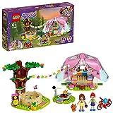 LEGO Friends, Le camping glamour dans la nature, Ensemble de jeu avec tente et les mini-poupées Olivia et Mia, 103 pièces, 41392