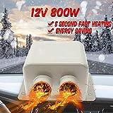 Kit de chauffage de voiture MASO 12V 800W, dégivrage de chauffage rapide de haute puissance 5 secondes pour l'hiver de pare-brise d'automobile