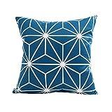 Mamum - Housse de Coussin décoratif géométrique en Polyester décoration créative pour Housses de canapé (D)