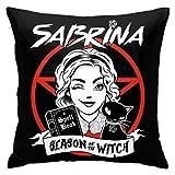 FETEAM Coussins de Protection Housse de Coussin Sabrina taie d'oreiller carrée décor à la Maison pour canapé-lit canapé