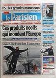 PARISIEN (LE) [No 19961] du 08/11/2008 - L'UNION AUTOUR DE ROYAL S'ANNONCE DIFFICILE / LES GRANDES MANOEUVRES AU PS - APRES LES BOTTES ET LES FAUTEUILS CHINOIS - CES PRODUITS NOCIFS QUI INONDENT L'EUROPE - 4 FRANCAIS ARRETES EN MALAISIE - SPORTS / LE XV DE FRANCE DEFIE L'ARGENTINE - AVEC MIKE HORN DANS L'ANTARCTIQUE