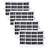 Lot de 4 Filtre Remplacement pour Whirlpool Refrigerateur Antibactérien