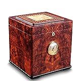 MEI XU Boîte à cigares - Boîte à cigares hydratante grande armoire à cigares à cigares en bois de cèdre (Couleur : A)