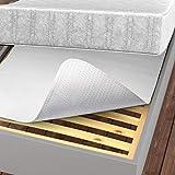 LILENO HOME Isolateur de sommier 90 x 200 cm – Protection antidérapante et anti-rouille pour matelas et sommier tapissier ou à lattes – avec picots
