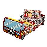 KidKraft- Lit pour Tout-Petits Camion de Pompiers, 76031, Rouge, Small