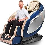 Erik Xian Fauteuil de massage corps ferroviaire SL massage complet colonne vertébrale automatique du col haut de gamme multifonction chaise canapé Massager massage professionnel et Relax Chaise (Coule