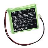 vhbw Batterie Compatible avec Paradox Magellan MG6250 Control Panel Alarme Maison/contrôle Home Security (1500mAh, 4,8V, NiMH)