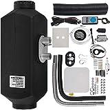 Olibelle 12V/5KW Diesel Heater Kit de stationnement diesel d'air de chauffage Appareil de Chauffage Voiture Outils avec avec Commutateur Numérique et Silencieux d'Echappement Facile à Installer