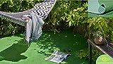 MadeInNature Moquette Couleur Gazon Vert d'extérieur ou d'intérieur | Grand Choix de Dimensions | Tapis Type Gazon Artificiel – pour Jardin, terrasse| revêtement de Sol Outdoor (133 x 400 cm)