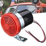 Yzki 12-24 V 105 dB Alarme de recul universelle pour voiture, camion, camionnette, véhicules lourds, Noir , Taille unique