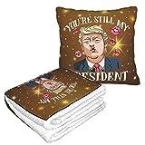 XCNGG Donal Trump est la Meilleure Collection de Flanelle du président Soft Cosy, Parfait pour Le lit ou Le canapé, Les couvertures d'oreillers