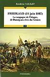 Friedland (14 juin 1807) : La campagne de Pologne, de Danzig aux rives du Niémen