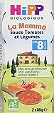 Hipp Biologique La Mamma Sauce Tomates et Légumes dès 8 mois - 12 Pots de 80 g
