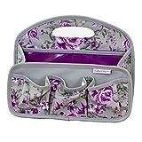 Crafter's Companion Sac de rangement portable pour loisirs créatifs Gris et violet Taille unique