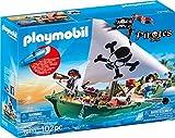 Playmobil - Chaloupe des Pirates avec Moteur Submersible - 70151
