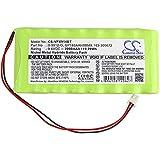 BXT-Focus Batterie 9,6 V/2000 mA pour Visonic Amber Select, AmberLink Emergency Response, PowerMax Complete Alarm Control, Powermax Pro, PowerMaxComplete Panneau de contrôle